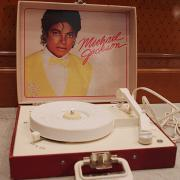 84' Vanity Fair Michael Jackson Record Player