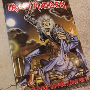 90' IRON MAIDEN No Prayer On The Road Programme