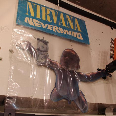 91' NIRVANA Nevermind Promotion Paper Display