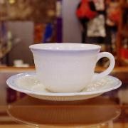 40's Anchor Hocking Alice Vitrock Cup&Saucer