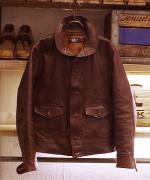 RRL Wellhouse Leather JKT
