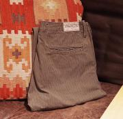 "RRL R36 Cotton Stripe Trouser Pants  "" W32 """