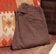 "RRL Cotton Stripe Trouser Pants  "" W30 """