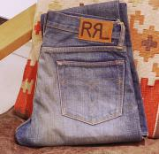 "RRL SLIM BOOT CUT CREEK 2 DENIM "" W31 """