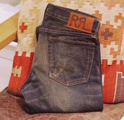 "RRL SLIM FIT MISSISSIPPI DENIM "" W29 """