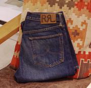 "RRL STRAIGHT LEG CABYON CREEK 2 DENIM "" W31 """