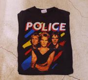 83' THE POLICE NORTH AMERICA TOUR Tシャツ
