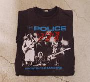 82' THE POLICE NORTH AMERICA TOUR Tシャツ