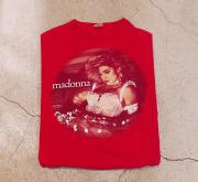 85' MADONNA the virgin tour Tシャツ