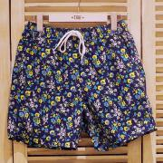 J.CREW 6' SWIM TRUNK IN HAVEN BLUE FLORAL