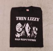 77' THIN LIZZY BAD REPUTATION Tシャツ